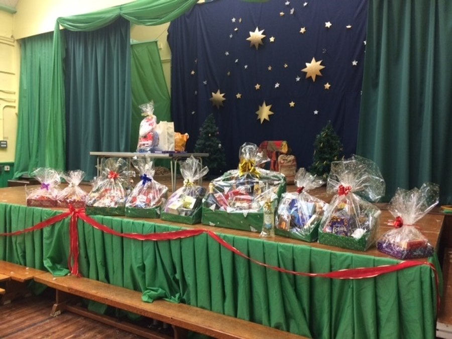 So many hampers!