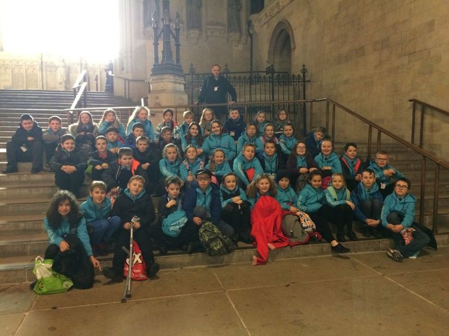 Y7 on our recent trip to London