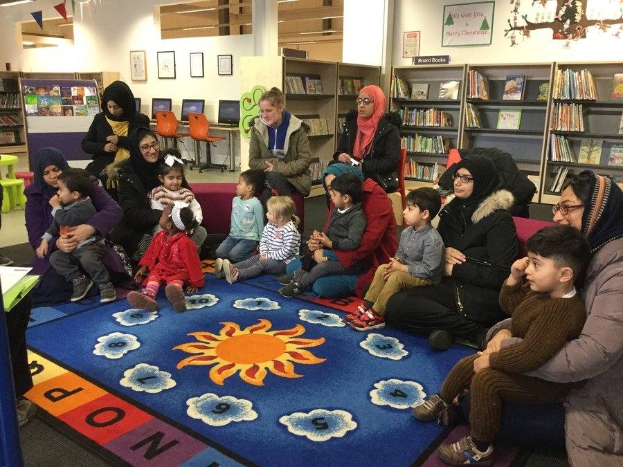city library visit