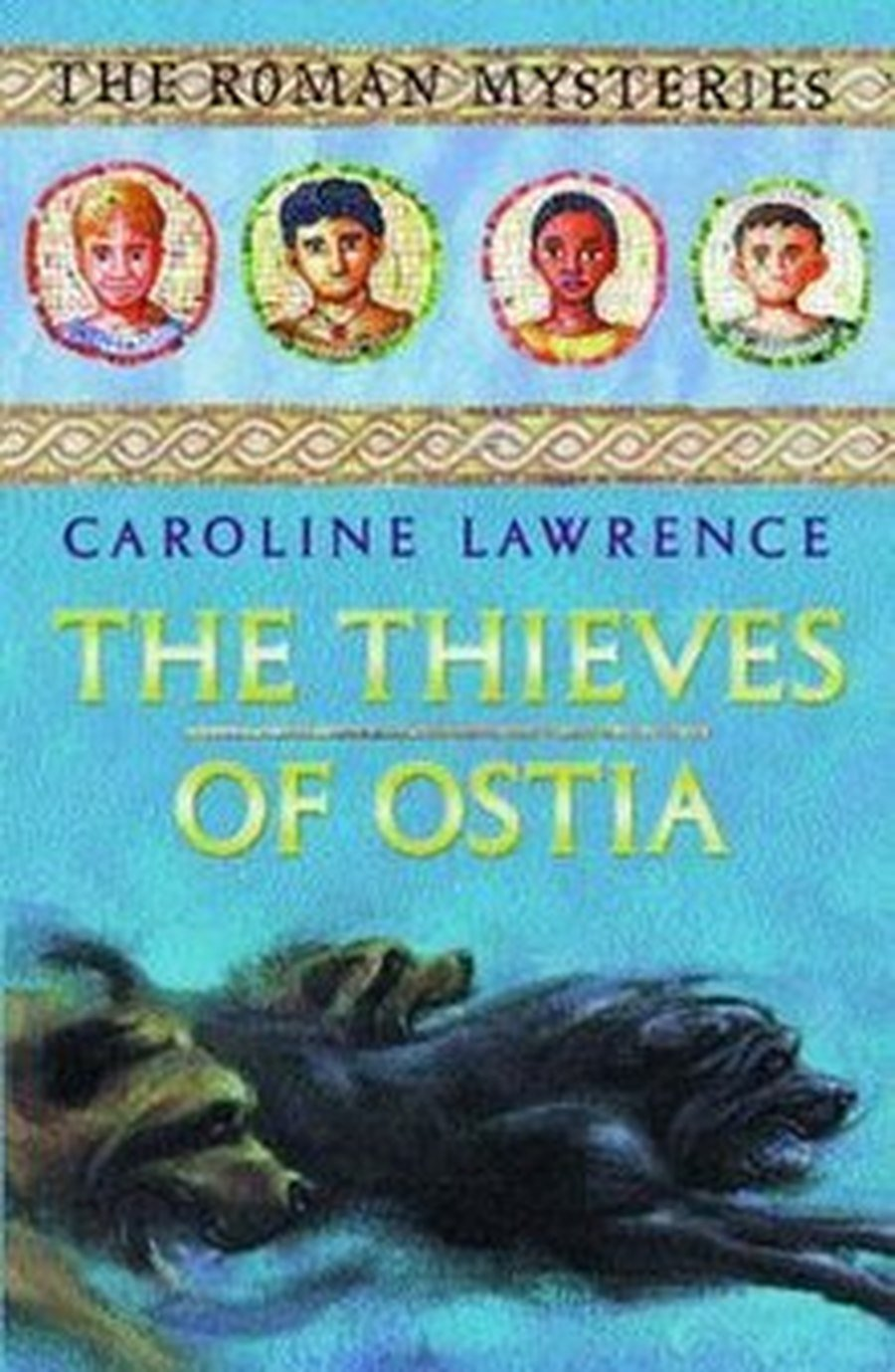 Our class reader is 'The Thieves of Ostia' by Caroline Lawrence.