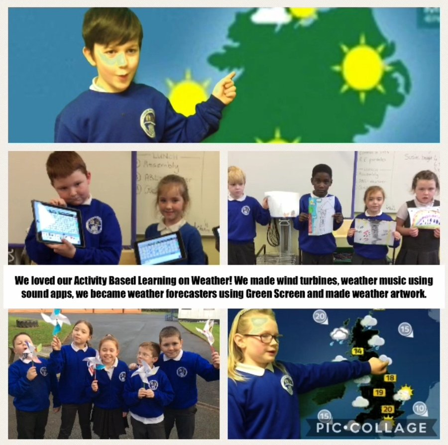 Happy New Year! Our new topic is Weather.  Have a look at what we've been up to.