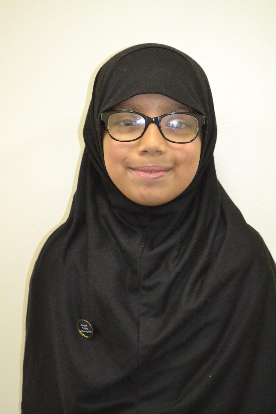 Well done Mariyah!