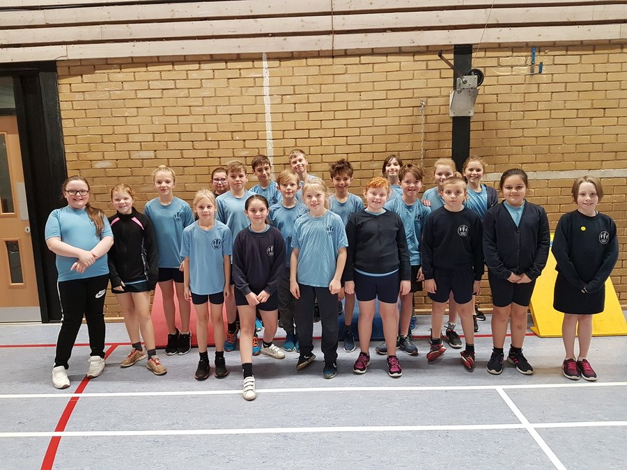 We were really pleased to come in 2nd place at the Hadleigh Pyramid Sportshall Athletics Competition in January 2019!