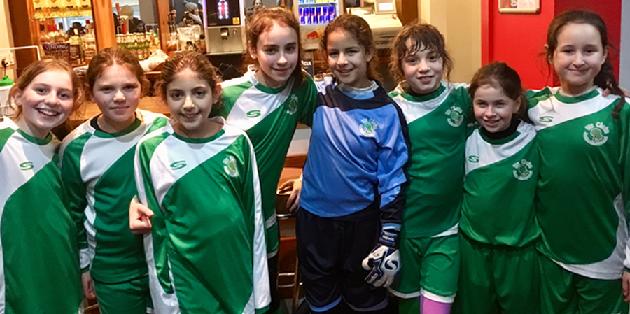 Year 5 and 6 Girl's Football Tournament January 2019