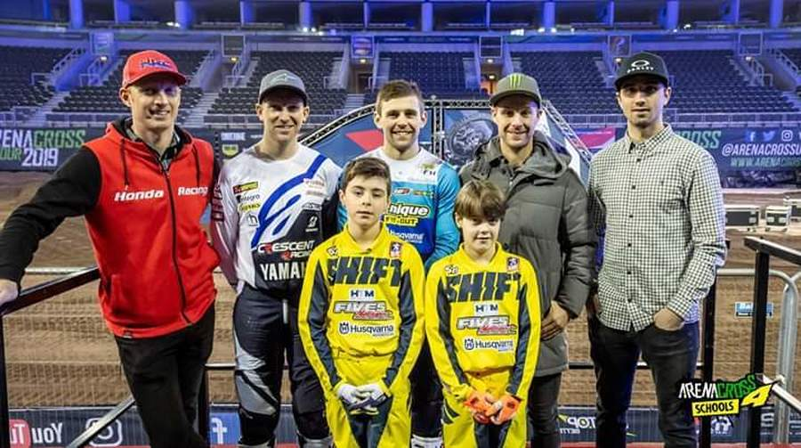 Wishing Robbie and Cole all the best competing in the Arena Cross Tour 2019