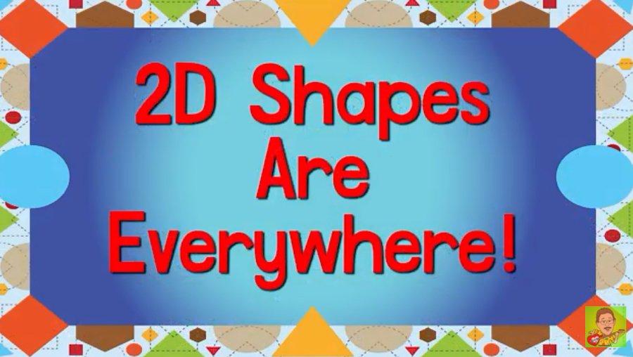 2D shape song