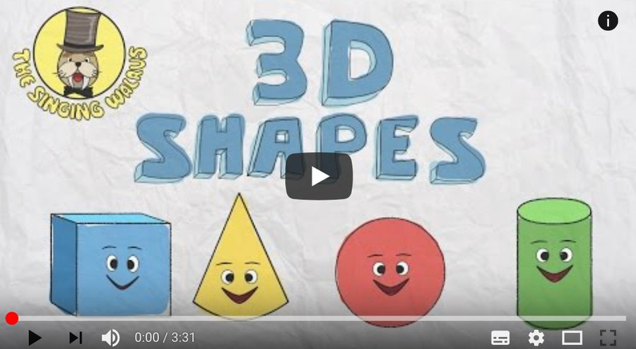 3D shape song