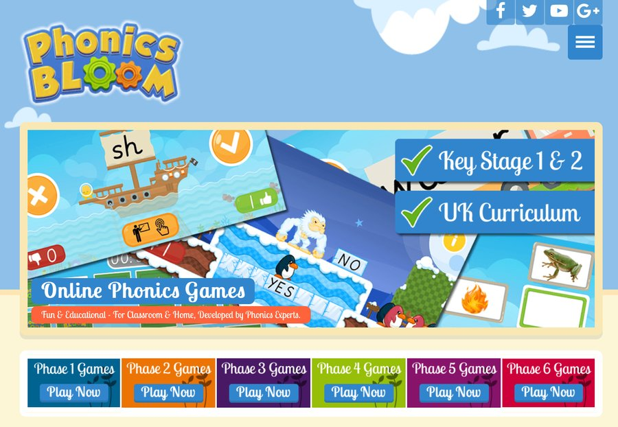 Click here for phonic games