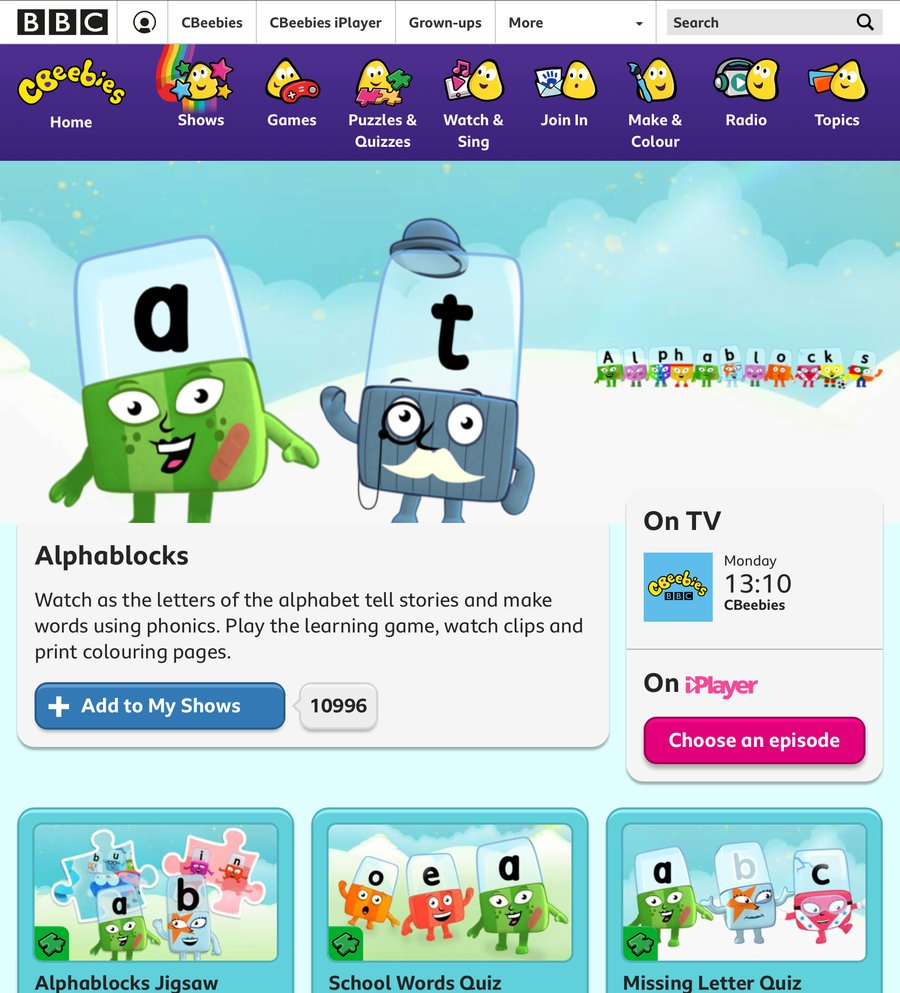 Click here for phonic activities and videos