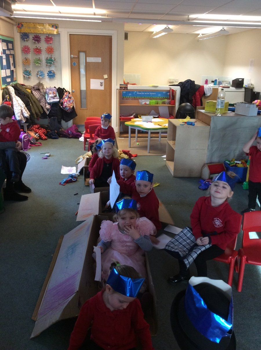 Space helmets to help us breathe in space.