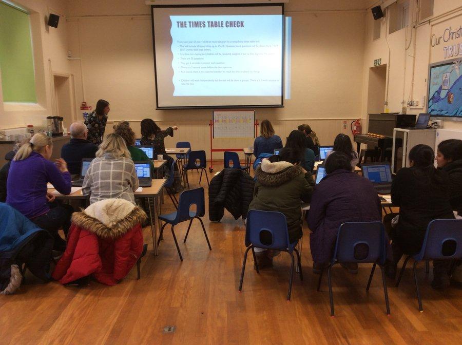 Times Table Parent Workshop