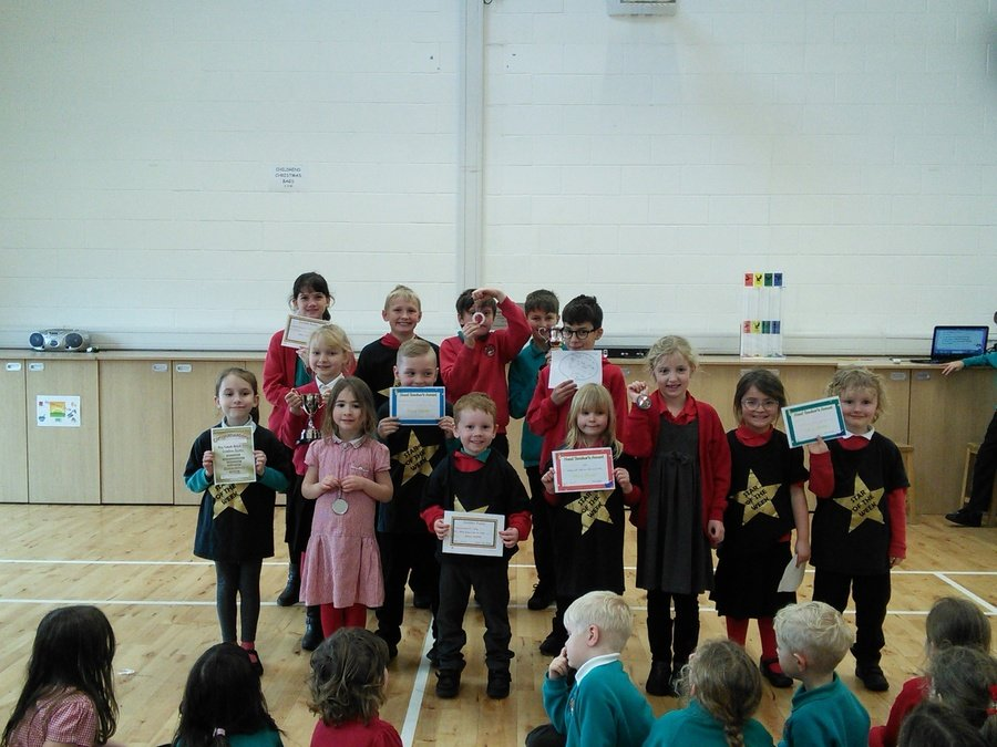Golden assembly winners 25th January 2019