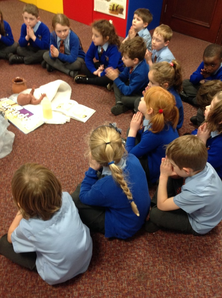 Y1 Thinking about Baptism in the Holy Space