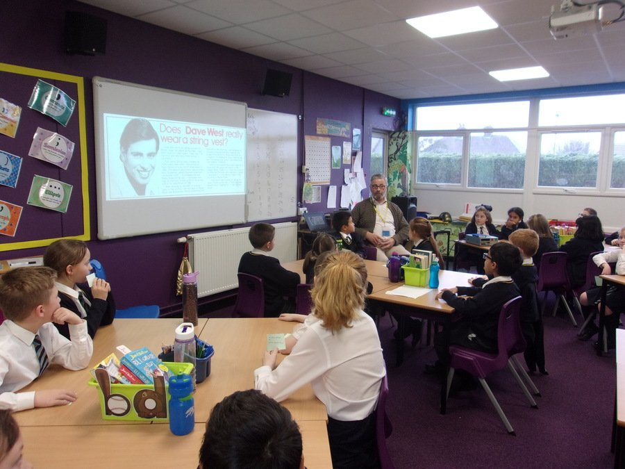 Dave West told us about his work as a Radio Stoke presenter.