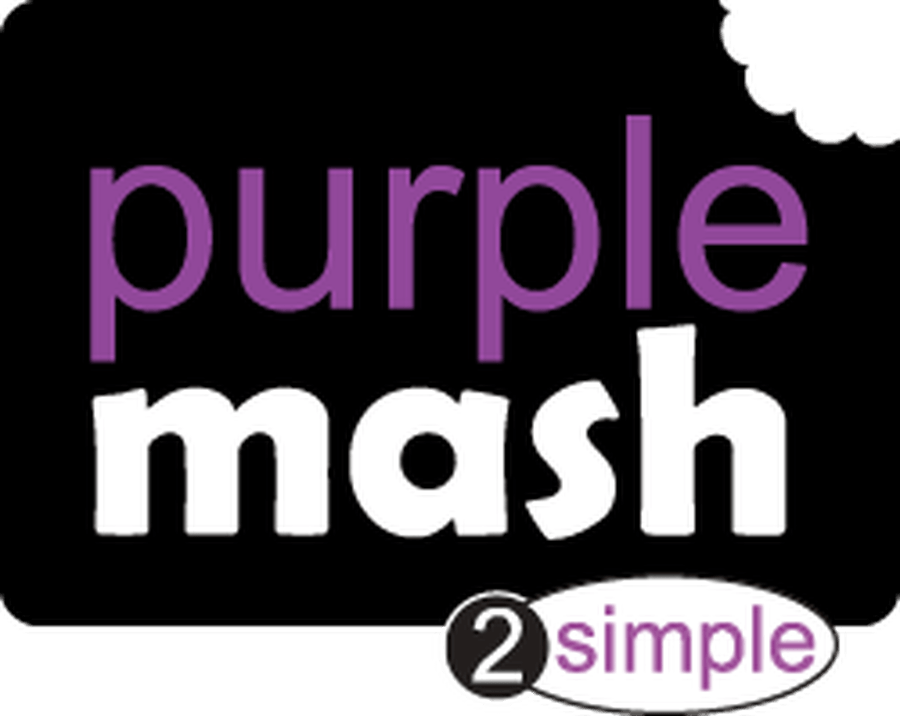 Purple Mash - log in page