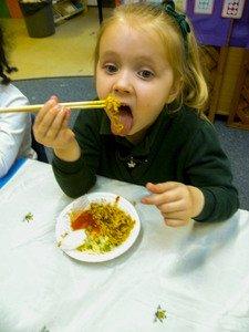 We Use Chopsticks