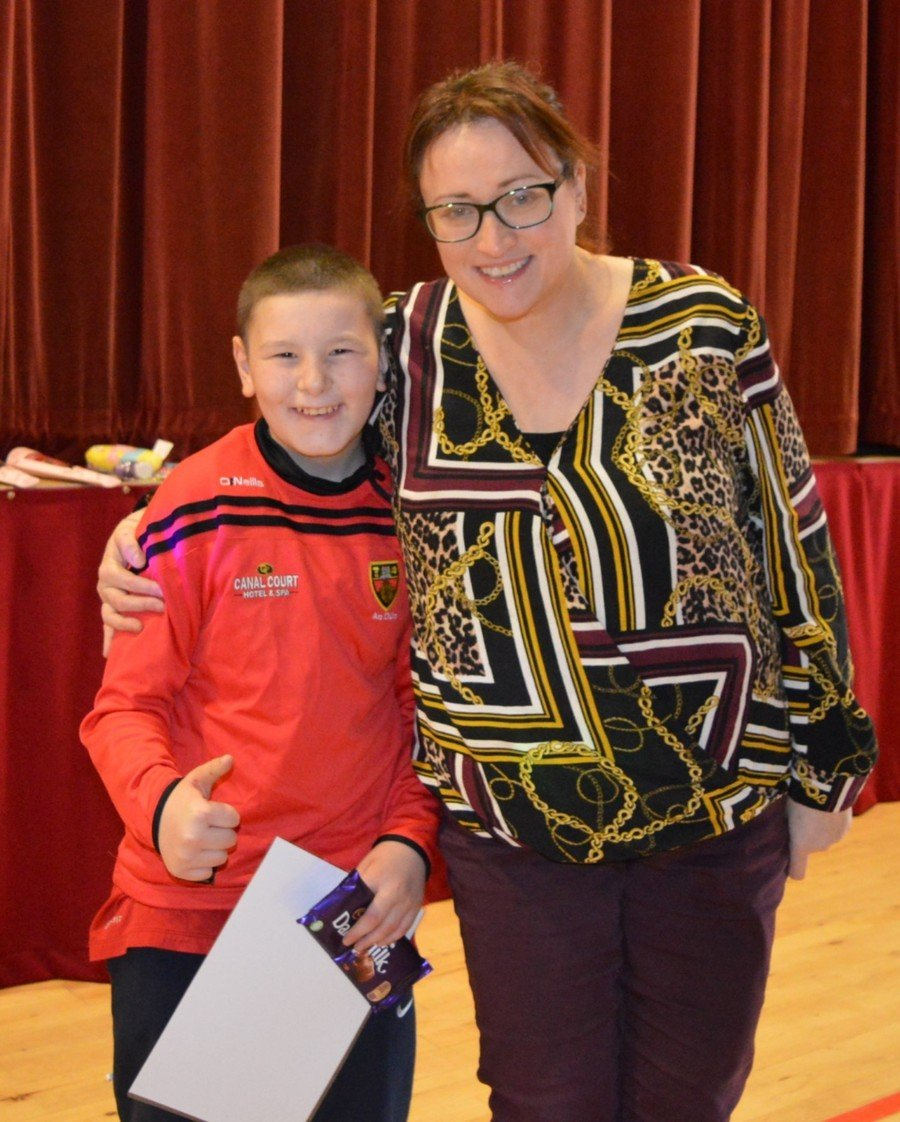 Miiddle School Pupil of the Month & Valentine Poem Winners