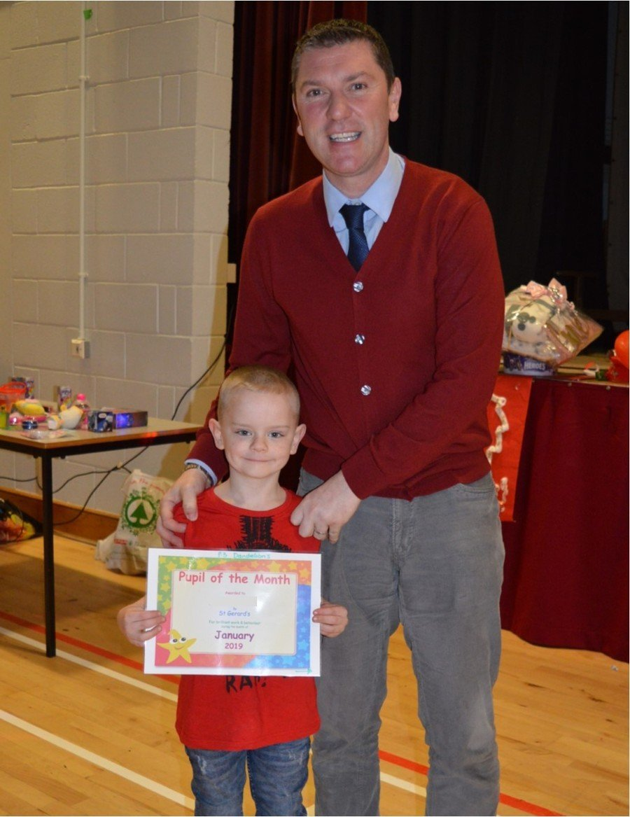 Early Years Pupil of the Month - January 2019