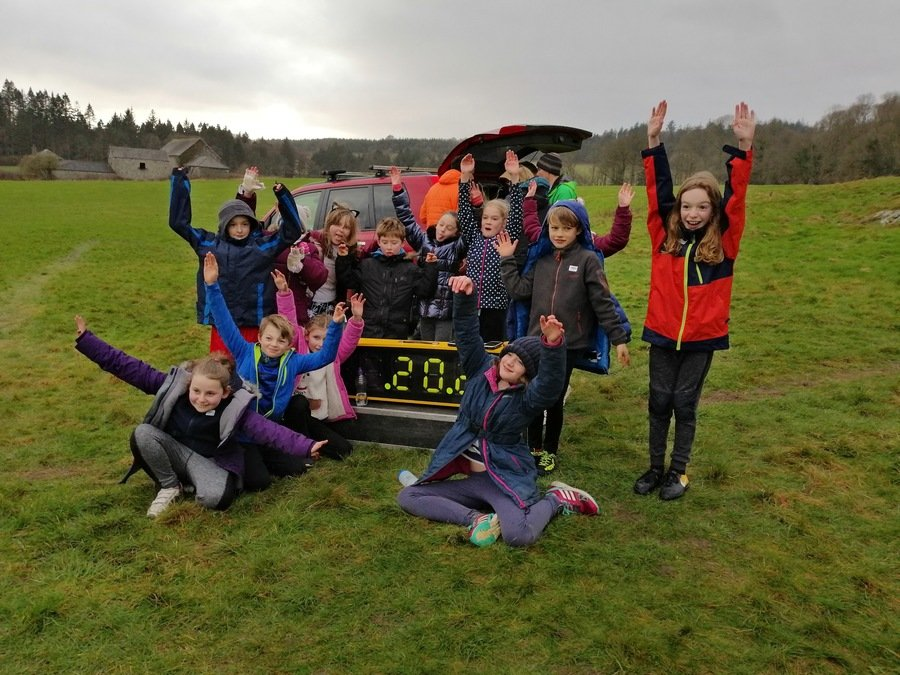 Cross Country at Cartmel Racecourse February 2019