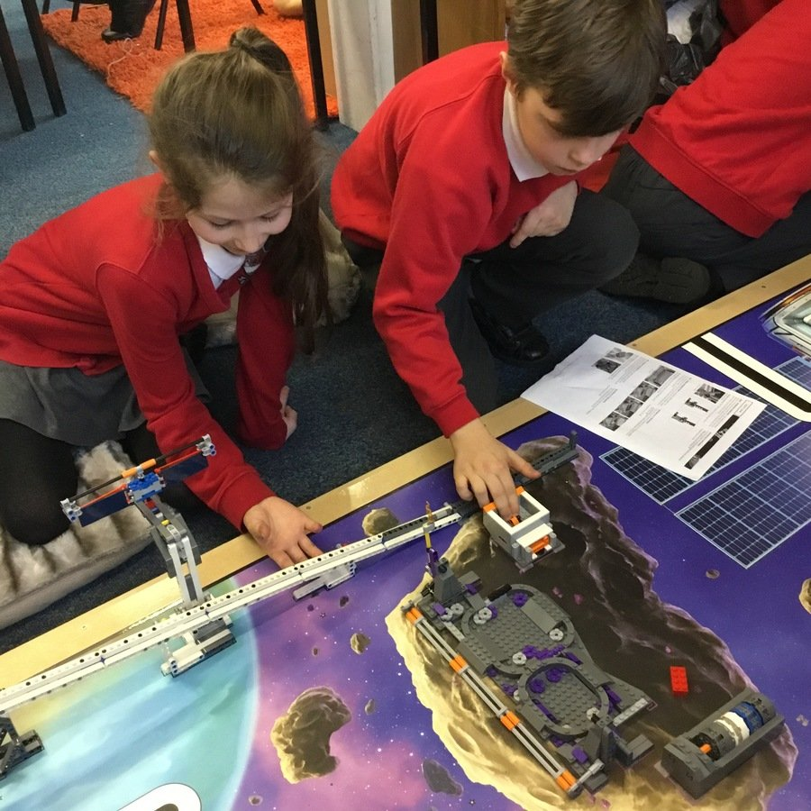 Programming the robot was very difficult!