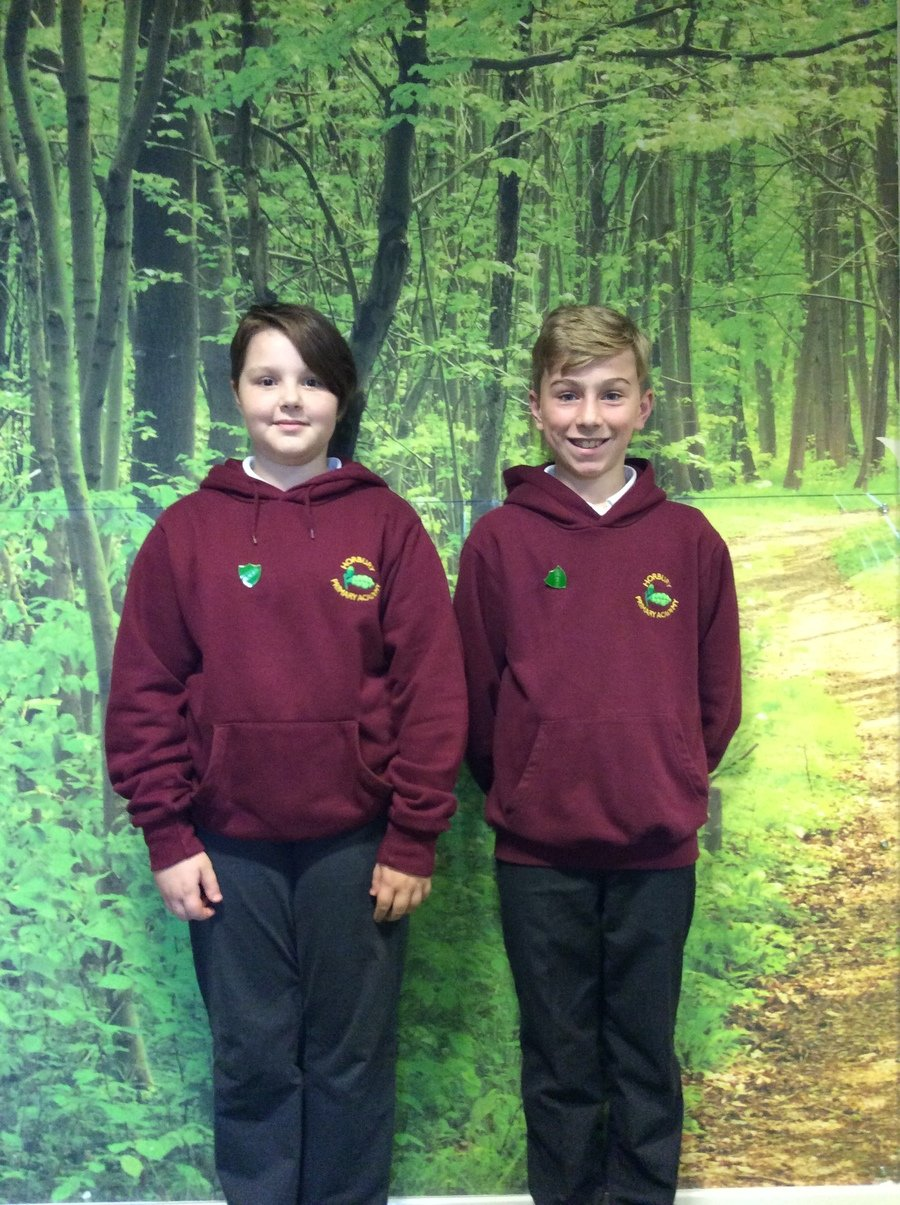 Poppy and Lenny were our Head Boy and Girl for the Autumn Term