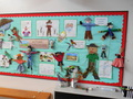Homework - we made scarecrows