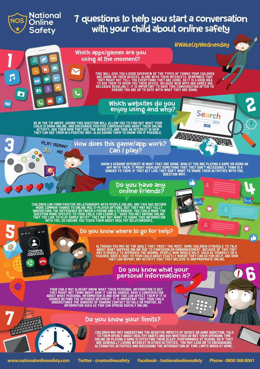 7 Questions about online safety