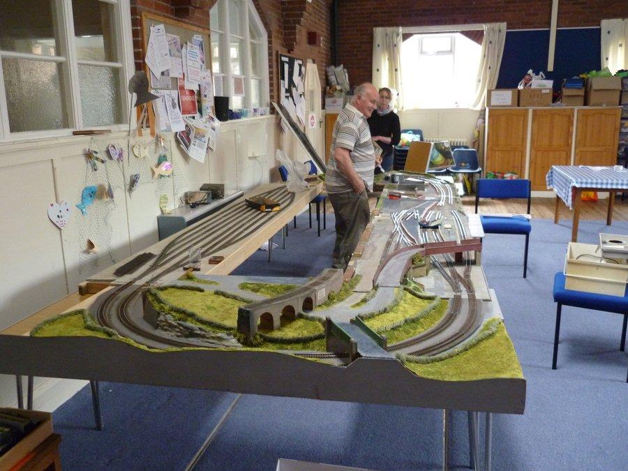 Train Fund Raising Event preparations