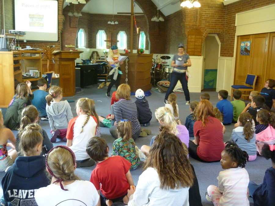Holiday Club- using flexible worship space