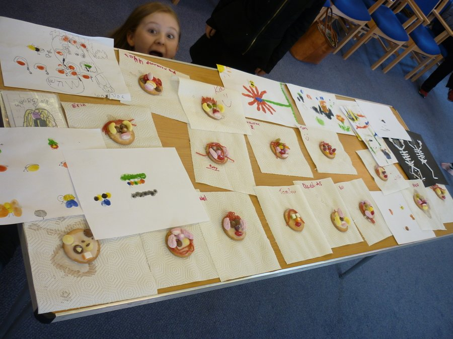 Messy Church (Edible) crafts
