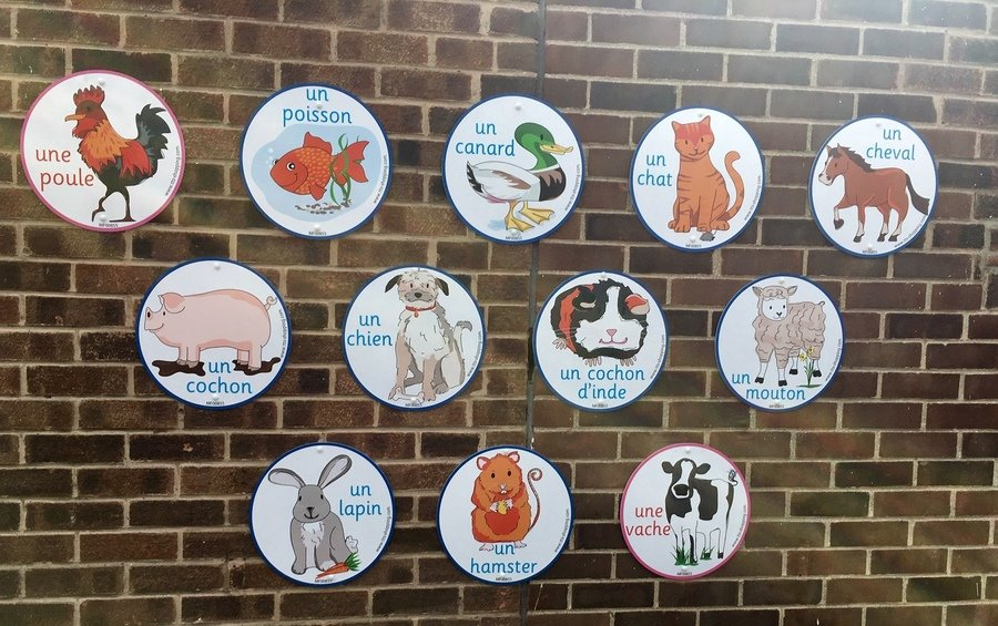 New French Playground Signs