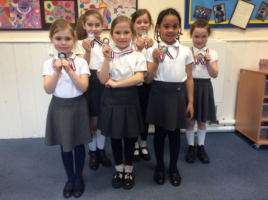 Year 2 Gymnastics Silver Medallists