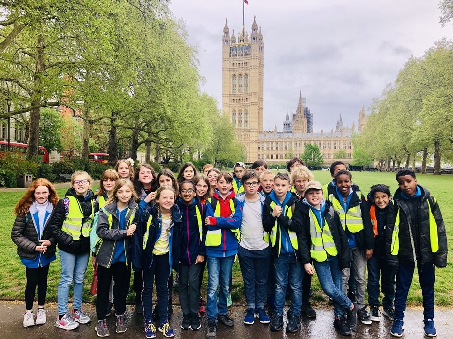 Year 6 visit London