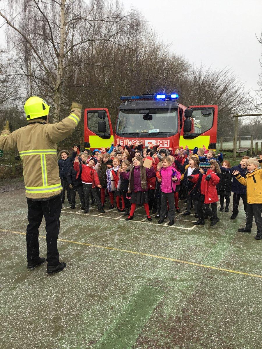 Thank you Northallerton Fire Brigade!