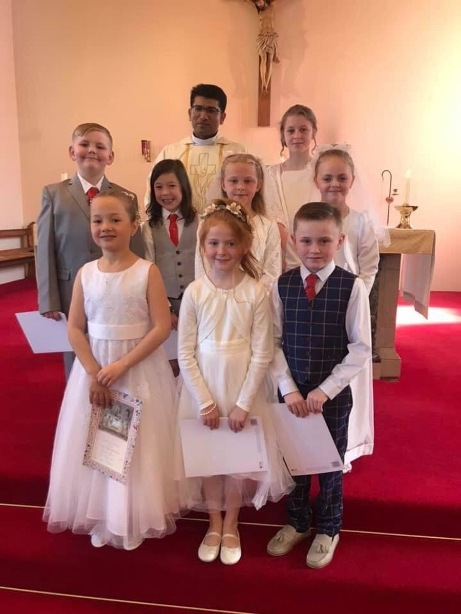 This years First Communicants