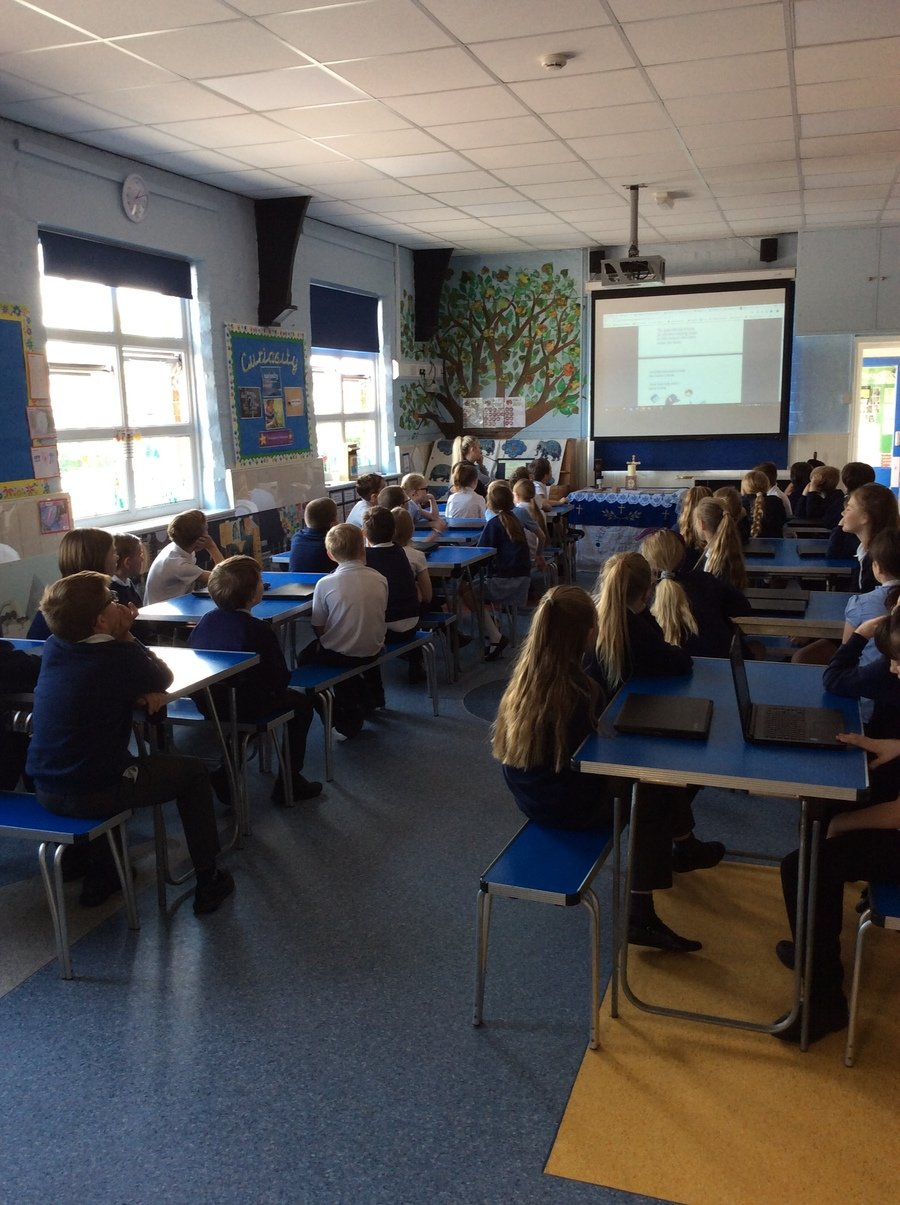 Internet Safety Day with Class 2 and 3