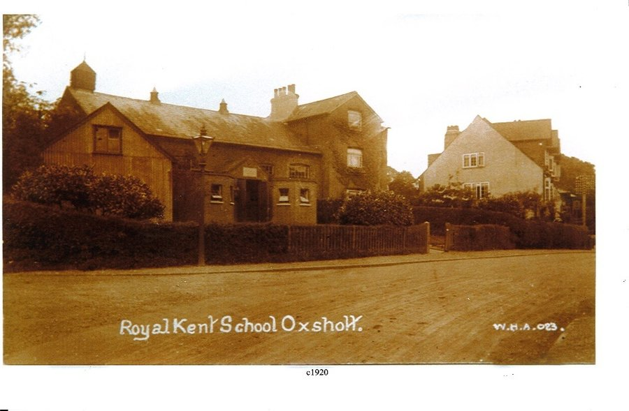 The Royal Kent School, Oxshott High Street, 1920