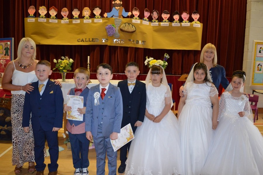 First Holy Communion at St. Gerard's