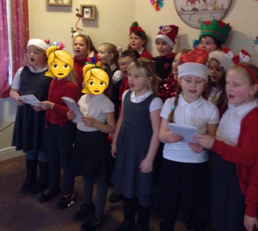Carol Singing at the nursing home