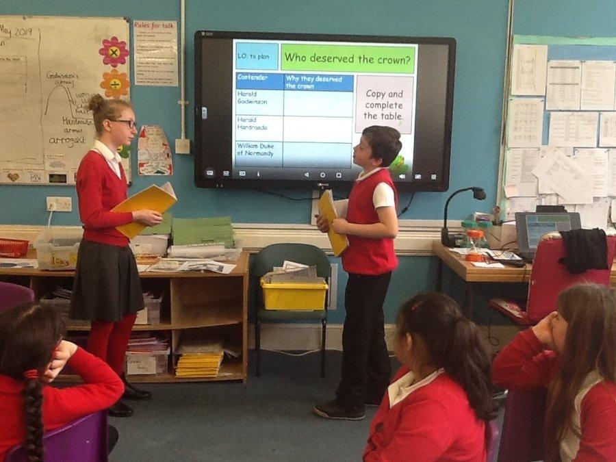 Debating who should've been king in 1066