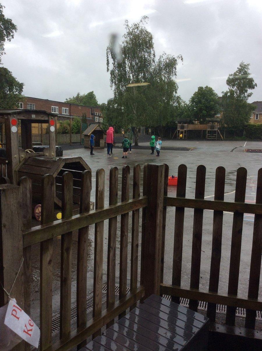 Come rain or shine OT must go on!