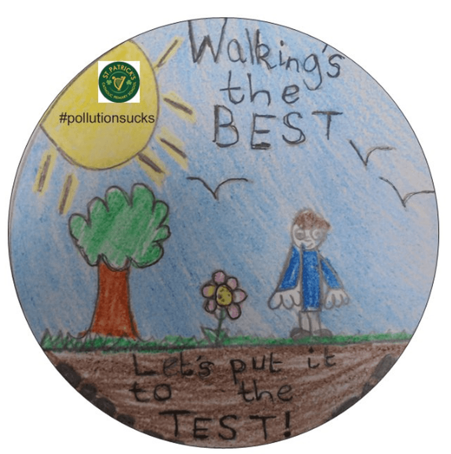 A fabulous sticker designed by Max in Rievaulx