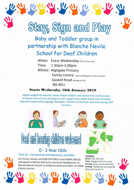 Stay, Sign and Play Baby and Todler Sessions for Deaf Children 1