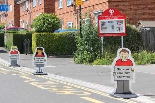 size 40 aabd6 5bc5f Our new Parking Buddies will be out every day to remind you to keep our  children safe by not parking on the zig zag lines at the bottom of the  drive.