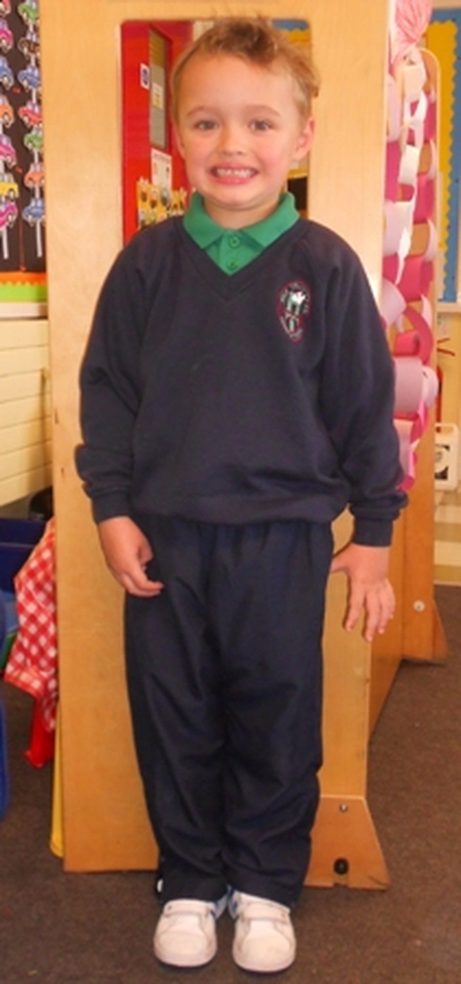 *Please Note* Pupils in the foundation stage may wear plain navy tracksuit bottoms as part of their uniform.