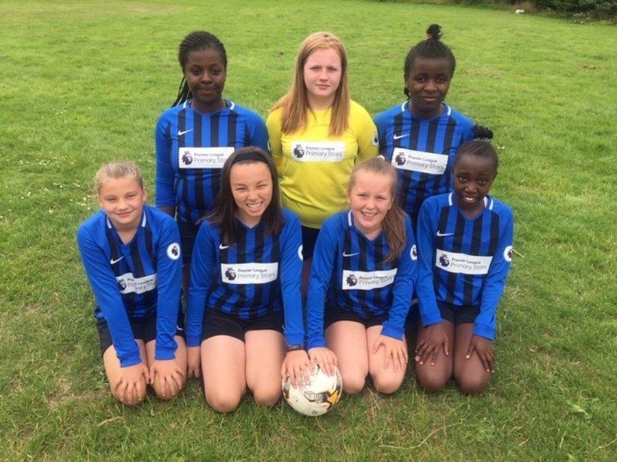 Girls' Football Team 2018-2019