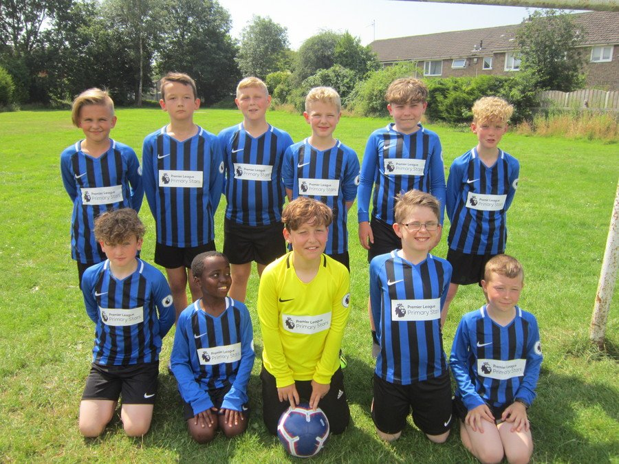 Year 5/6 Boys' Football Team 2018-2019