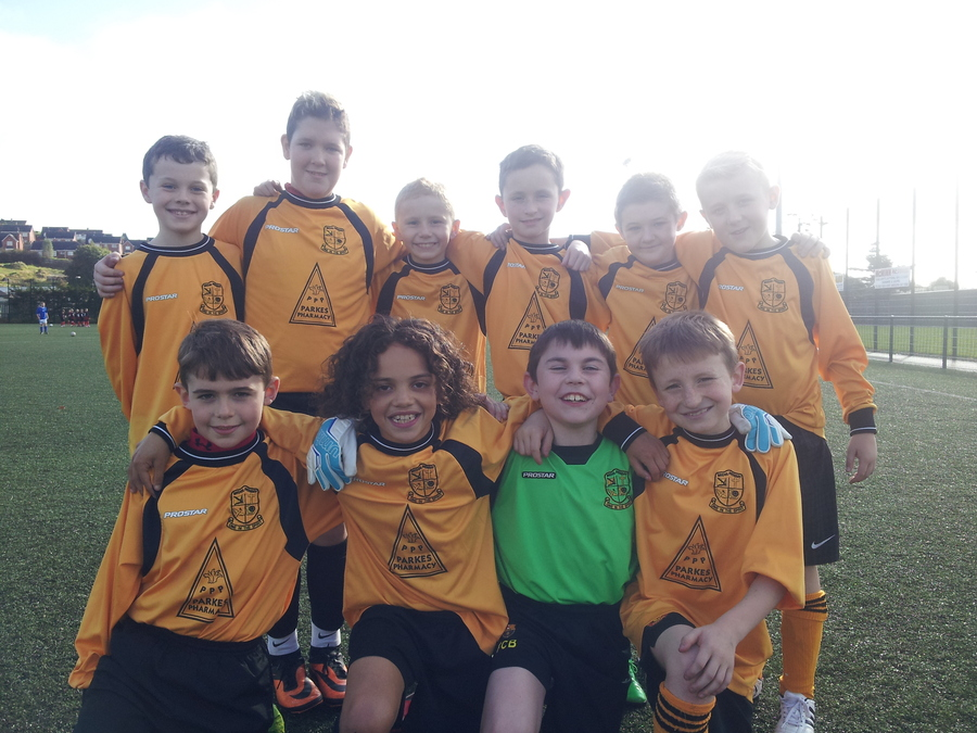 Back row: Patrick, Edward, Adam, Callum, Jordan, Ryan.  Front row: Adam, Rio, Shane and Harry.