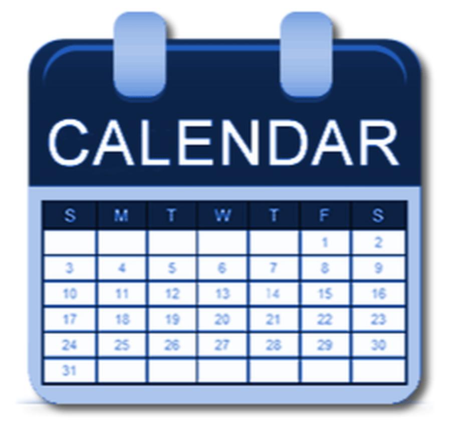 School term dates and Events Calendar