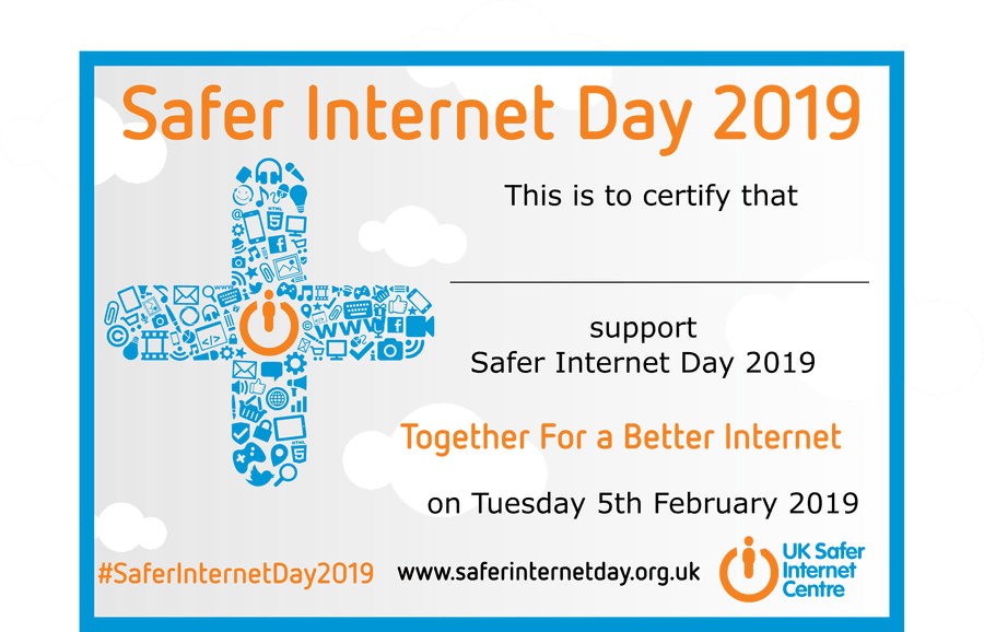 Remember to stay safe online!